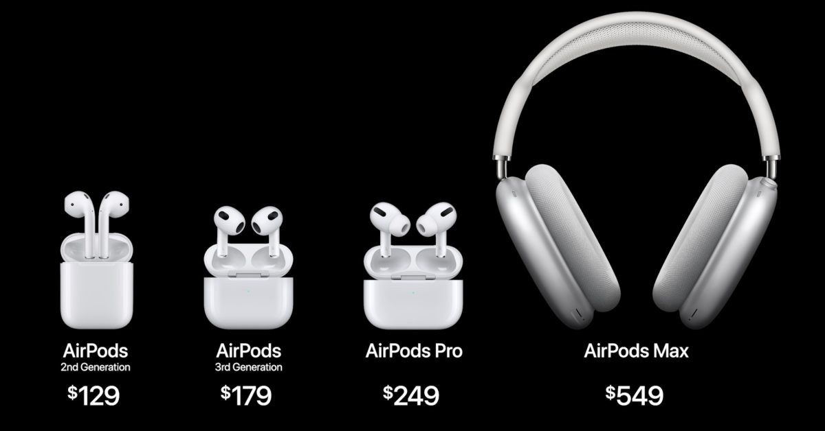 AirPods 3 pricing and availability: From $179, pre-order from today