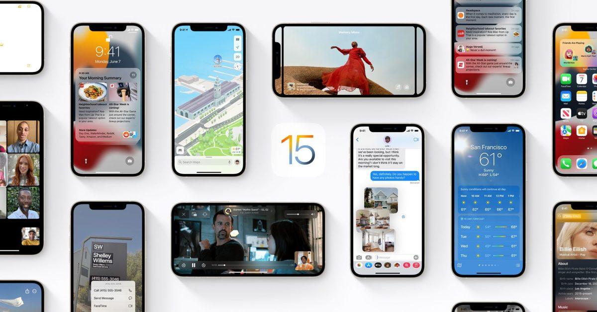 Apple stops signing iOS 15.0, blocking downgrades from iOS 15.0.1 and iOS 15.1 thumbnail