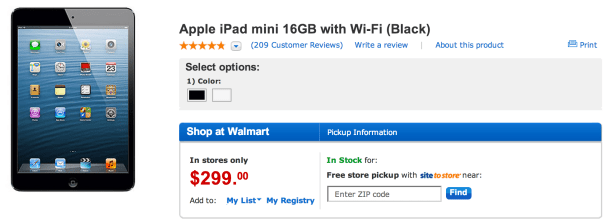Best Buy puts iPad 3 on clearance for as low as $314 as Walmart offers 16GB iPad mini for $299
