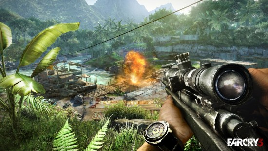 Far Cry 3-gameplay