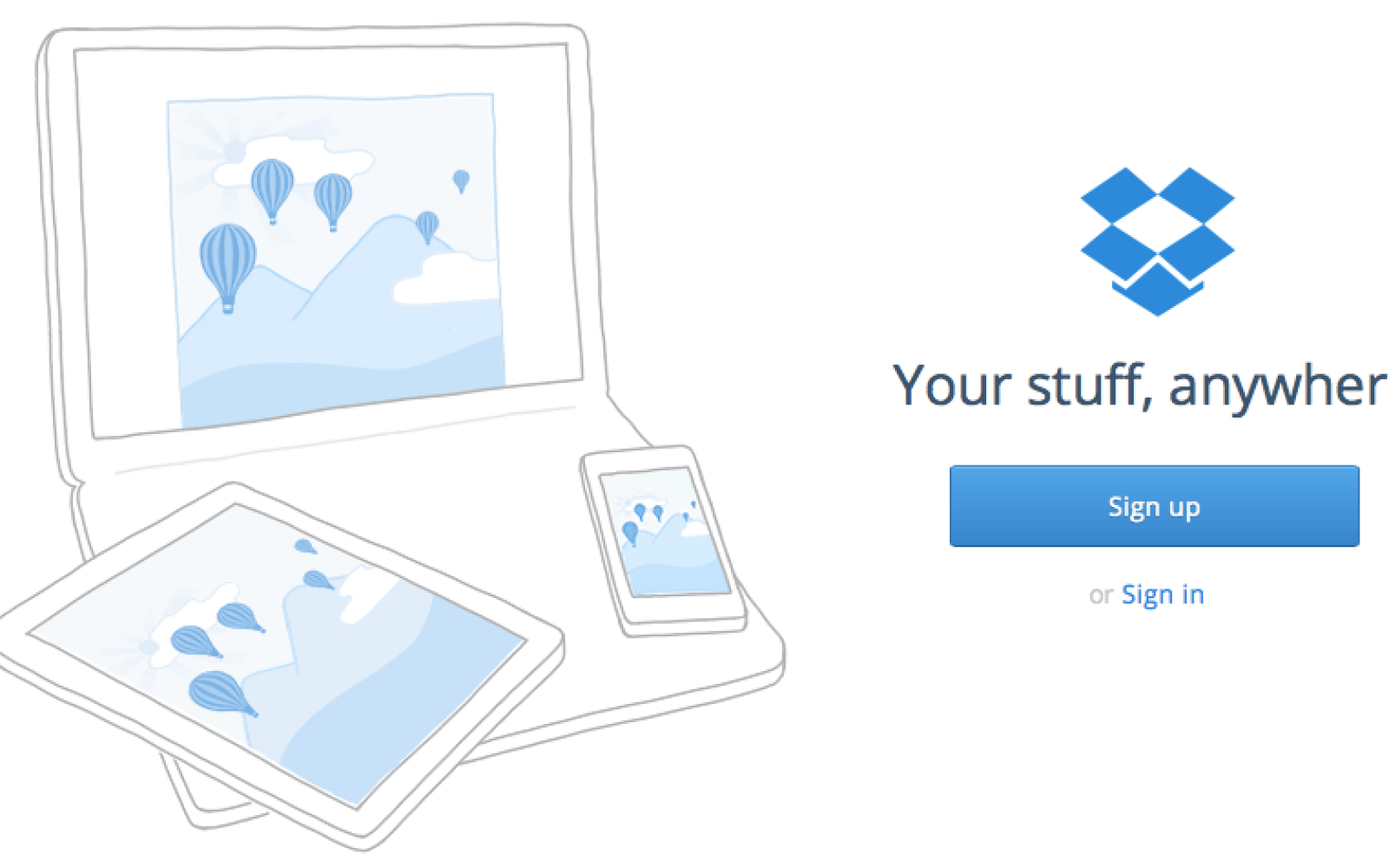 Get an extra 1GB of Dropbox space for free
