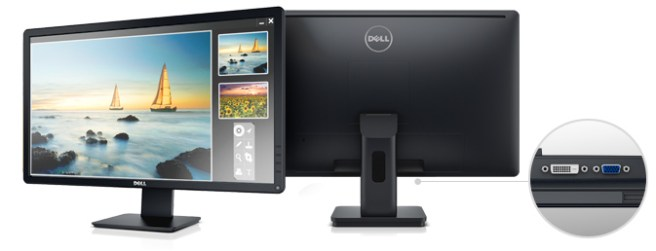 24-Inch-Dell-E-Series E2414Hr-Screen-LED-Lit Monitor