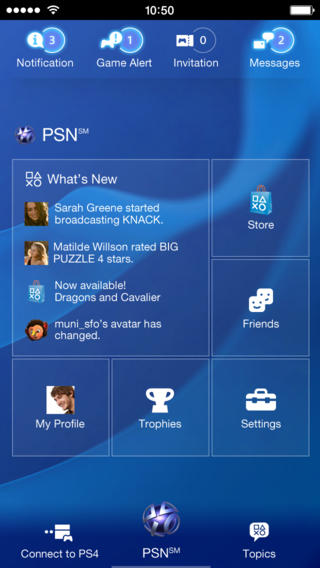 PlayStation App-release-iOS-free-01-PS4