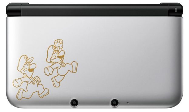 limited edition-silver-Nintendo-3DS XL -Mario and Luigi-Dream Team