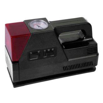 HDX 12-Volt Inflator with Warning Light-Black-sale