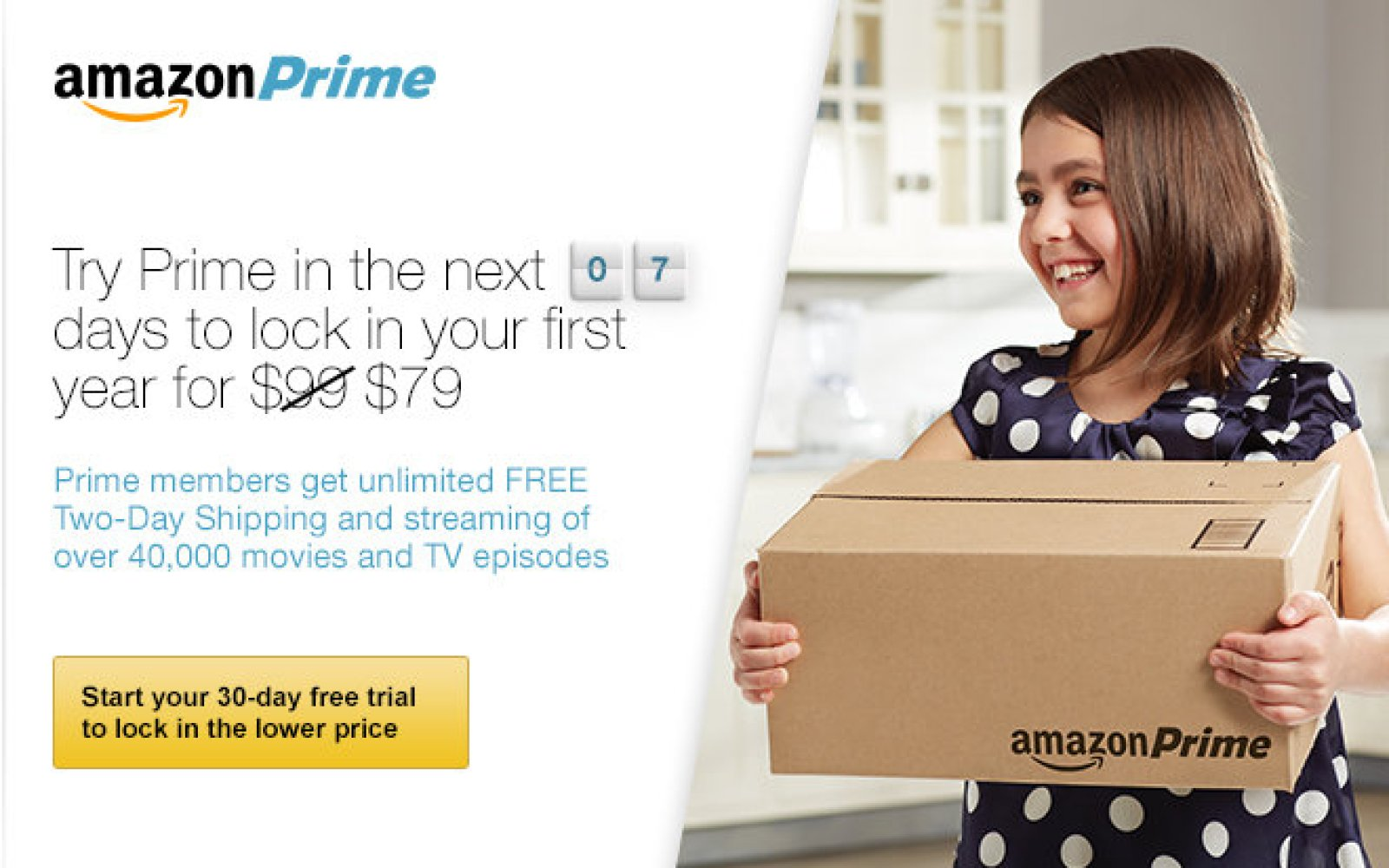 Amazon announces rate increases for regular ($99/yr) and Student Prime ($49/yr) memberships