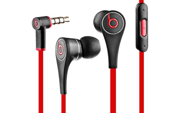 Beats by Dre Tour 2.0 In-Ear Noise Isolating Headphones with In-line Control Module, Solid Metal Housing and Tangle-Free Flat Cable