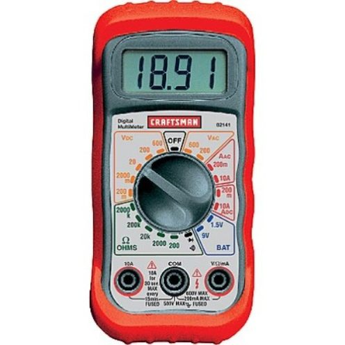 Craftsman Multimeter with 8 Functions and 20 Ranges-sale-01