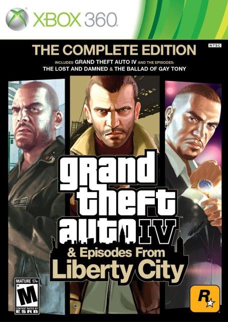 Grand Theft Auto IV Complete on 360-sale-DLC-01