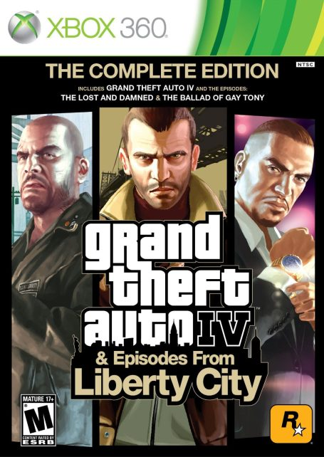 Grand Theft Auto IV Complete on 360-sale-DLC-01