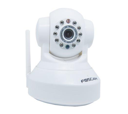 Foscam FI8918W Wireless:Wired Pan&Tilt IP:Network Camera w: 8 meter Night Vision(black or white)-sale-01