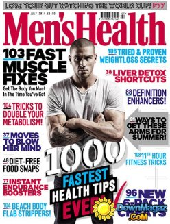 Men's Health July 2014