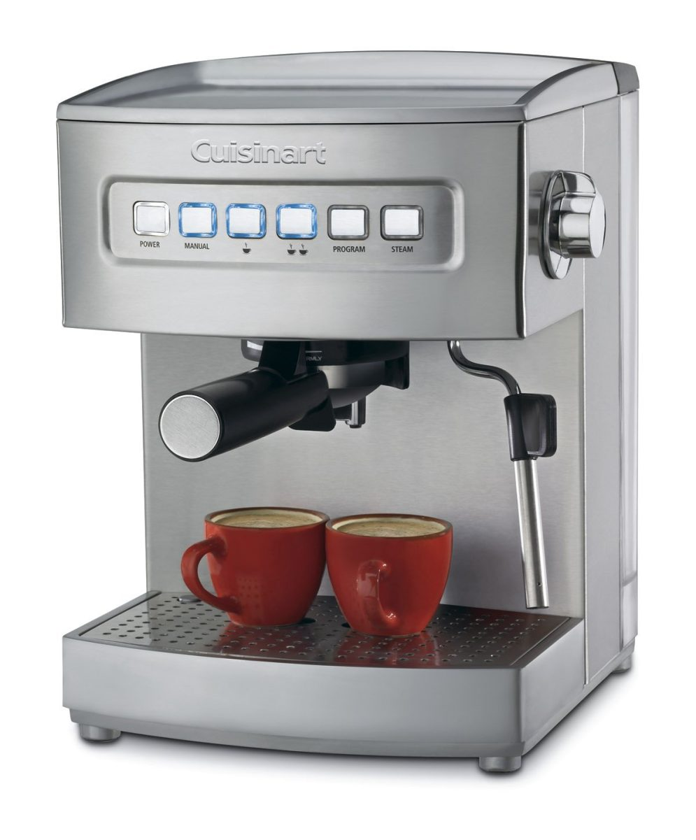 Stainless Steel Cuisinart EM-200 Programmable 15-Bar Espresso Maker-sale-01