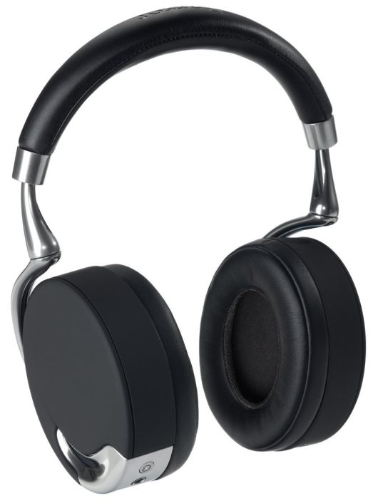 Parrot Zik Wireless Bluetooth Active Noise Cancelling Headphones with Touch Control (black:silver)-sale-01