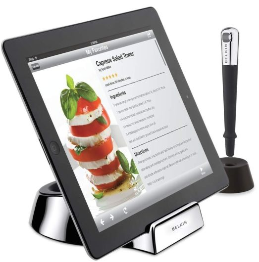 Belkin Kitchen Stand and Wand:Stylus for Tablets-sale-01