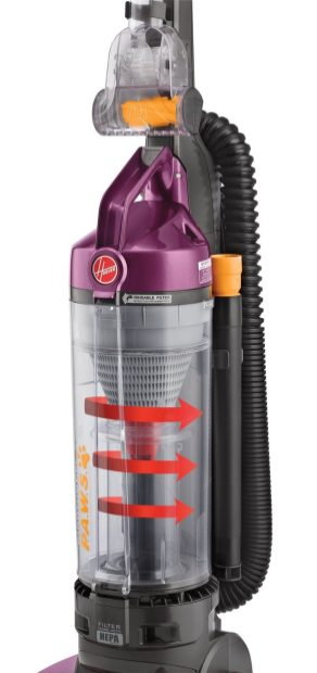 Hoover T-Series WindTunnel Pet Bagless Upright Vacuum-02