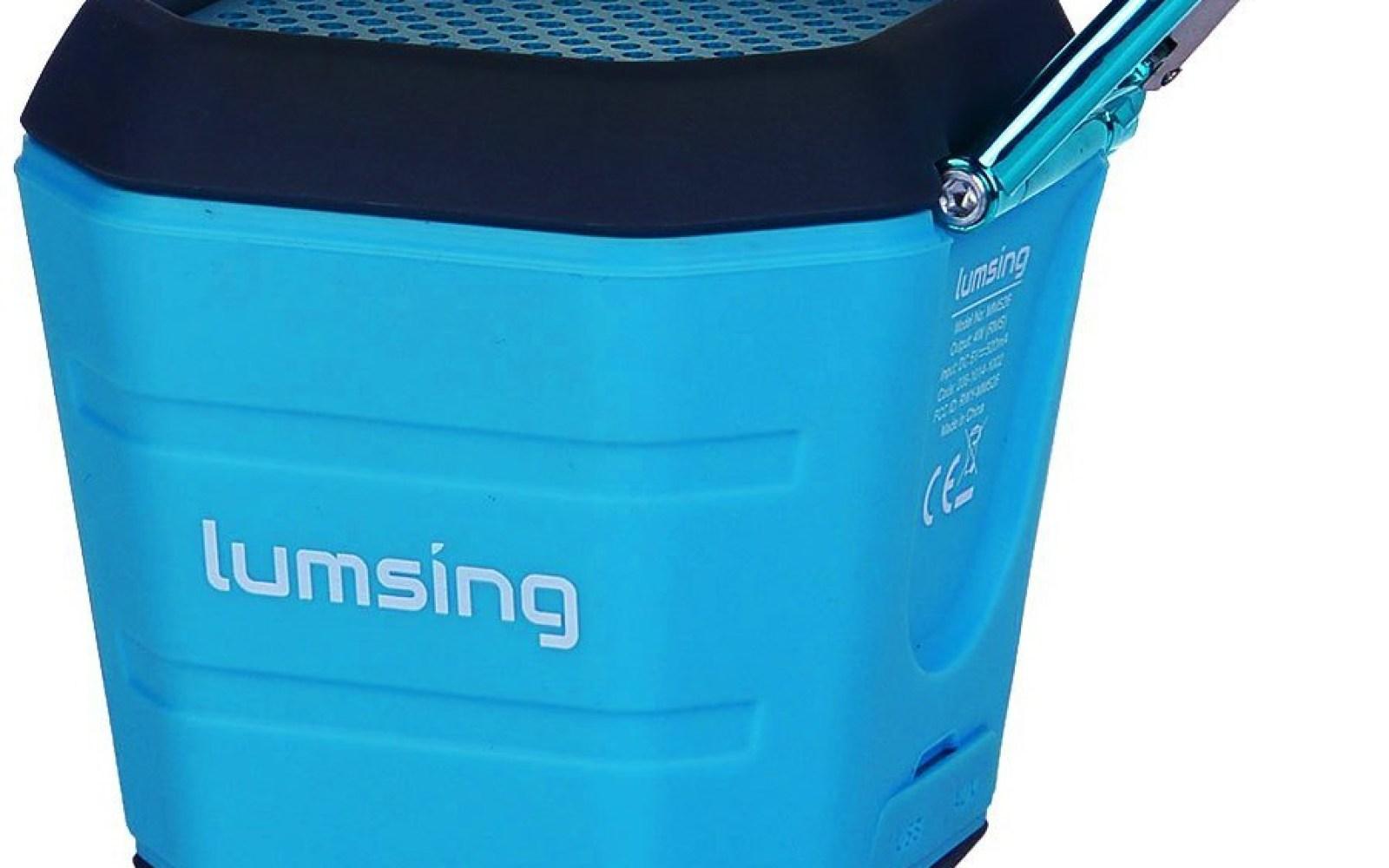 Lumsing Portable Waterproof Bluetooth 4.0 Speaker $29 Prime shipped (Reg. $70)