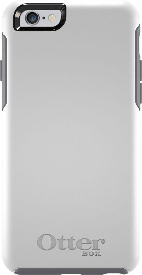 OtterBox Symmetry Series iPhone 6 Case in Glacier (White:Gunmetal Grey)-sale-02