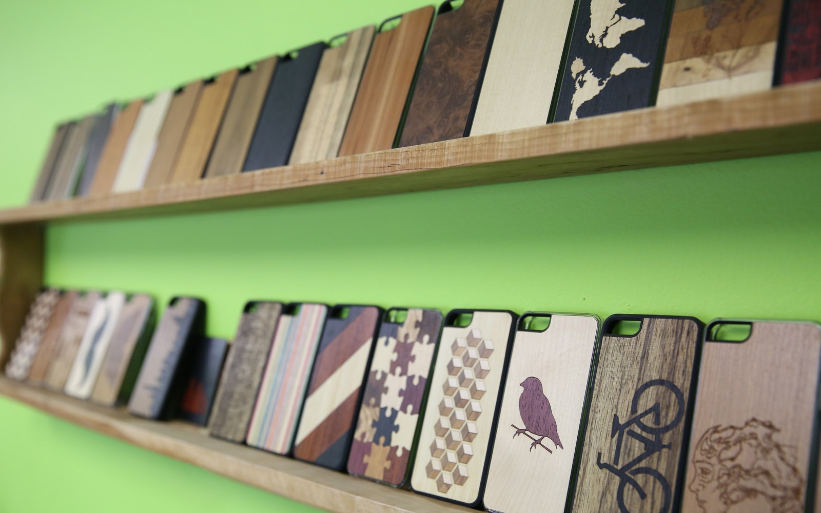 Small States: Carved wraps your phone w/ wood from sunken ships & skateboards, multiple giveaways, 15% promo code