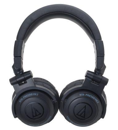 Audio-Technica ATH-PRO500 Mark II Professional DJ Monitor Headphones-03