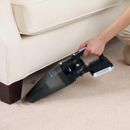 Black + Decker Platinum 20V MAX* Combo Kit (Vacuum & Drill)-03
