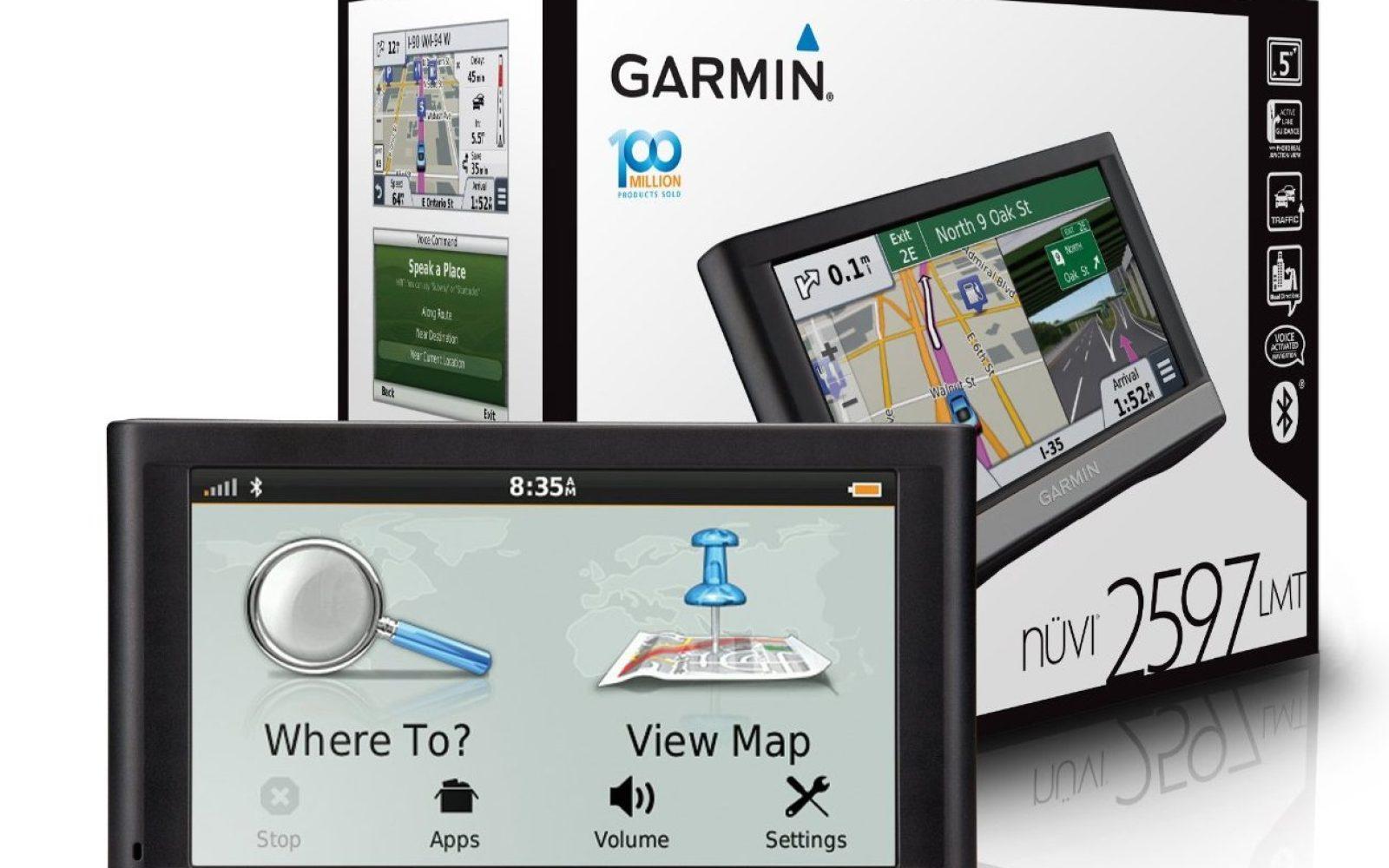 Garmin nüvi 2597LMT 5-inch Bluetooth GPS w/ lifetime maps ... on