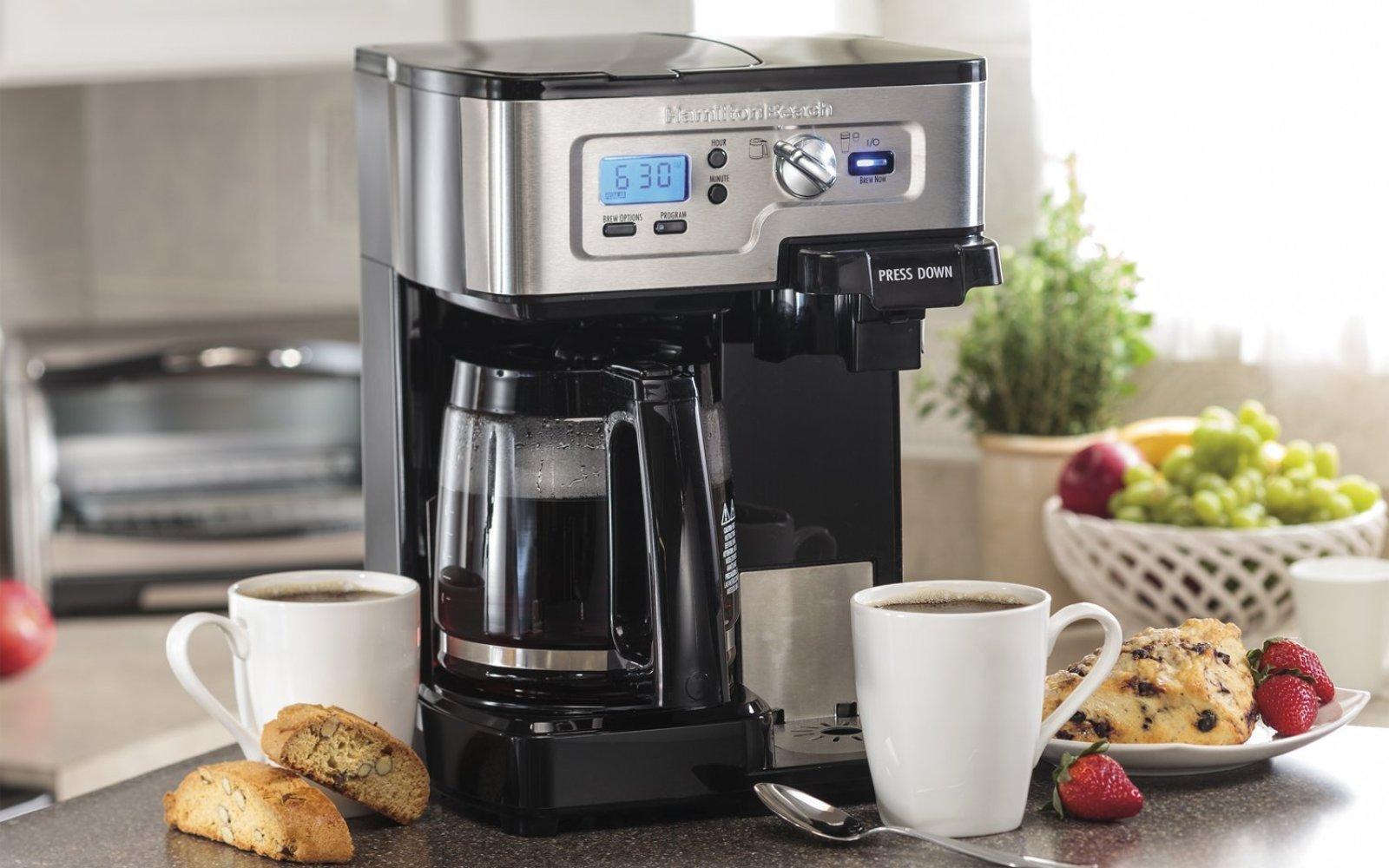 Home: Hamilton Beach K-Cup coffee maker $72 (Reg. $100), Rubbermaid 34-pc Food Storage $12 (Reg. $20+), more