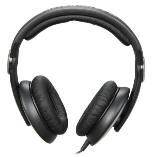 sennheiser hd 205 ii studio grade on ear headphones black silver 25 shipped reg 48. Black Bedroom Furniture Sets. Home Design Ideas