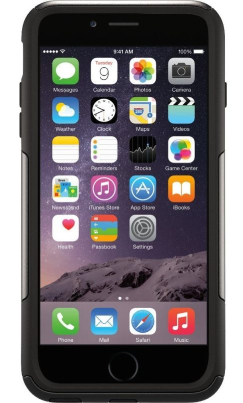 OtterBox iPhone 6 Plus Commuter Series Case in black-sale-01