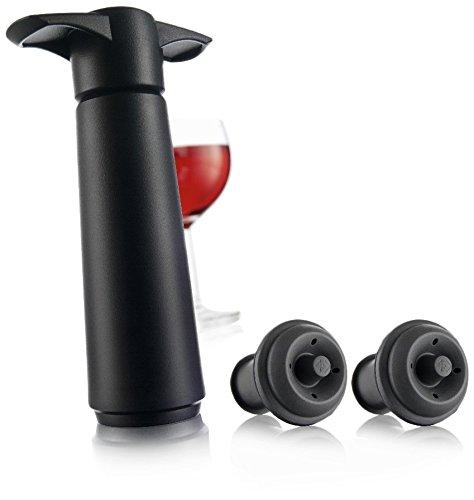 Vacu Vin 981460 Wine Saver Vacuum Wine Pump with 2 Stoppers-sale-01