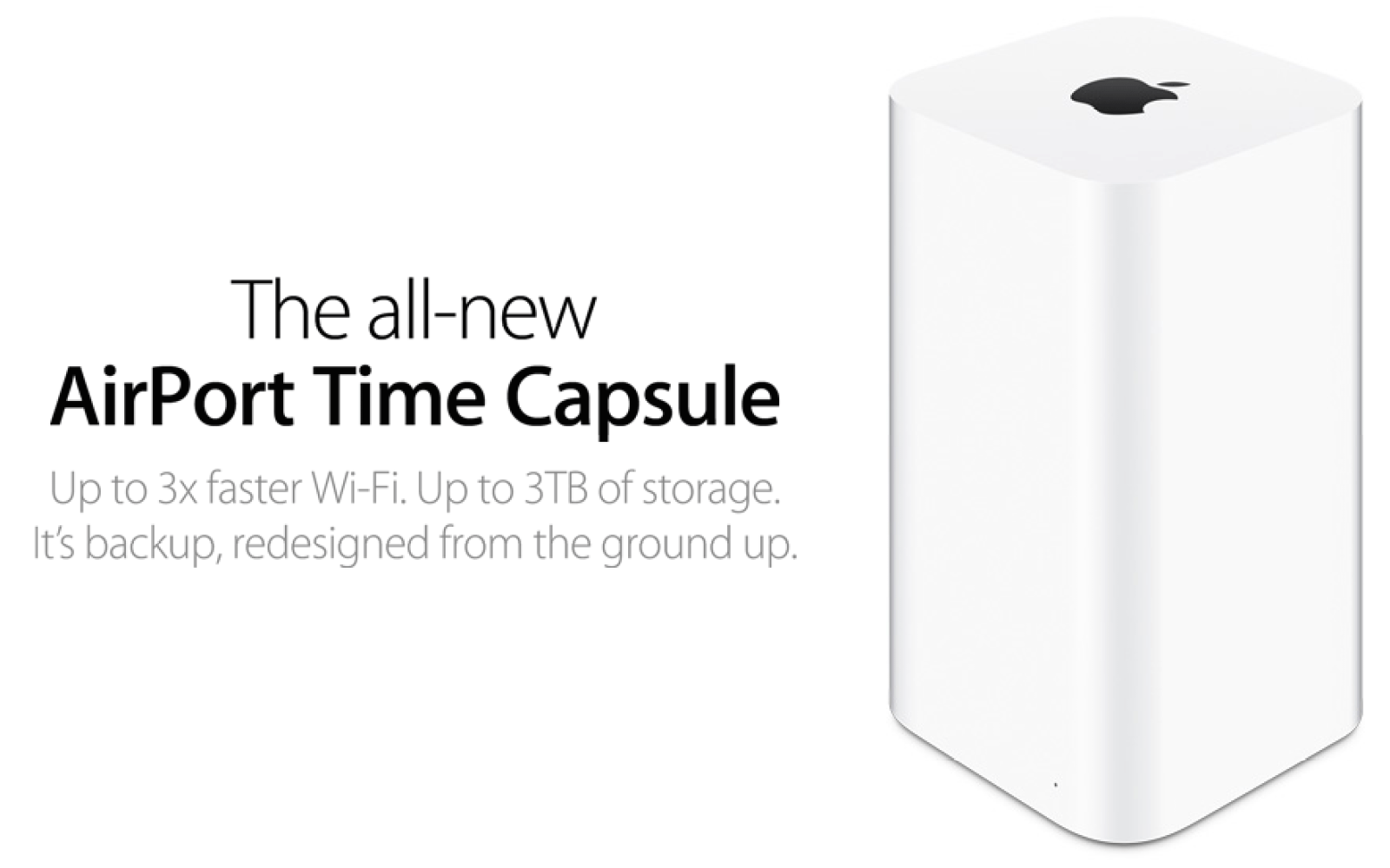 Apple 3TB AirPort Time Capsule (newest version) w/ 802 11ac