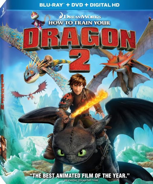 how to train your dragon 2 release on netflix