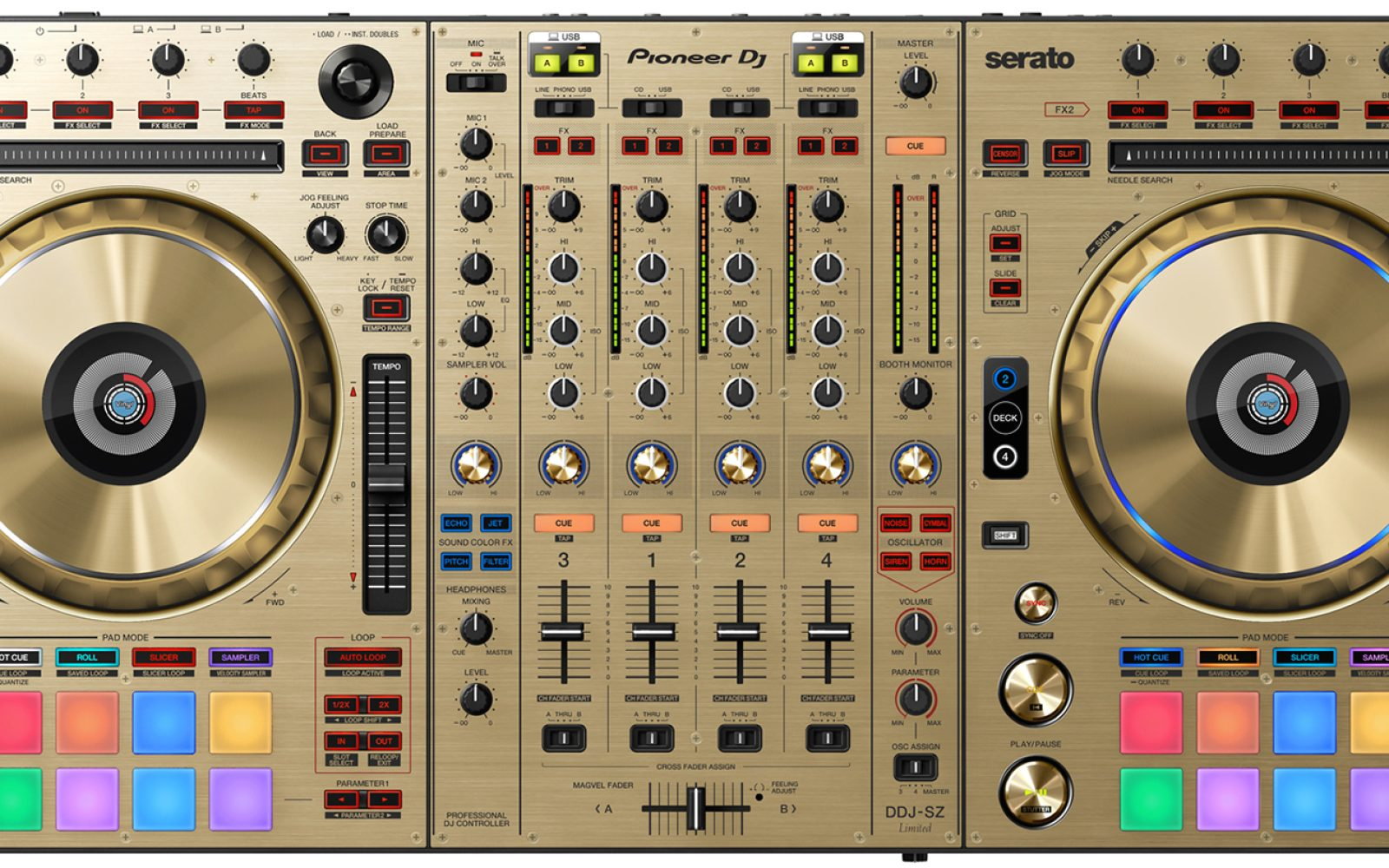 Here's a look at Pioneer's new all-gold limited edition DJ