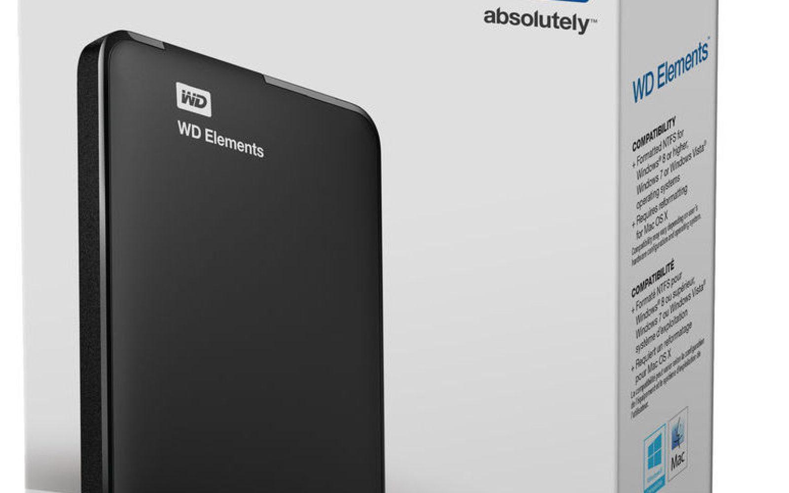 Wd Elements 1tb Portable Usb 30 Hard Drive 50 Shipped Orig 70 Hardisk External