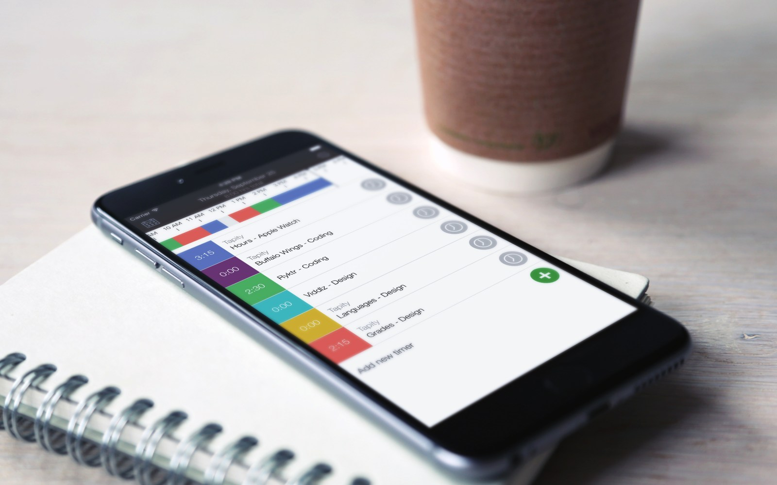Hours Time Tracking app from Apple Design Award winner Tapity goes free for the very first time ($7 value)
