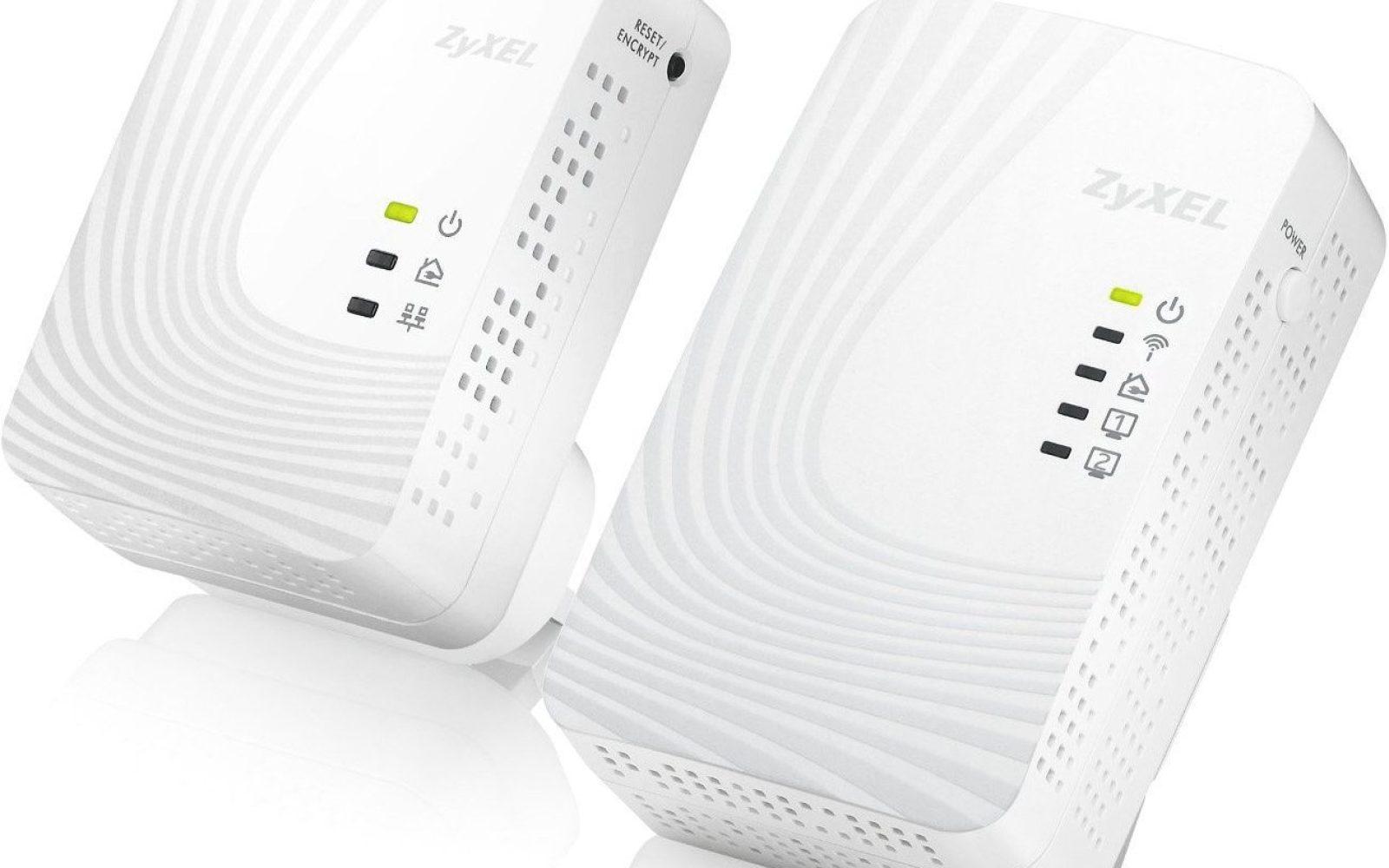 ZyXEL AV500 Powerline kit with N300 Wireless Range Extender