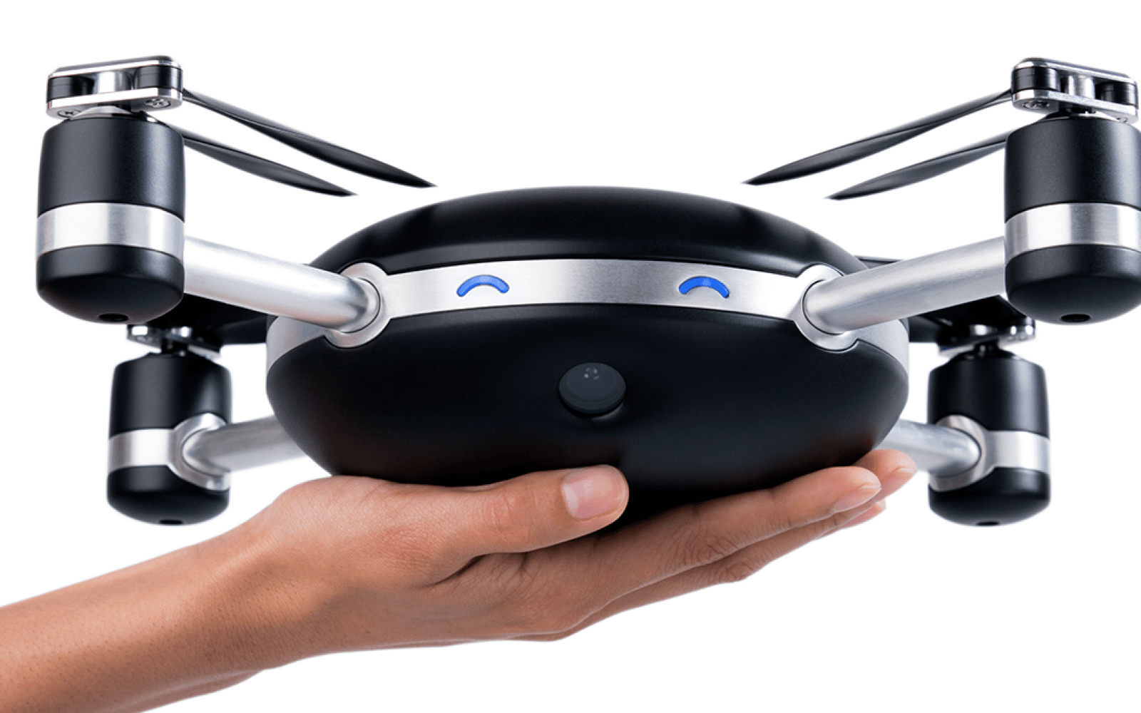 Just throw the Lily Camera drone in the air and it will automatically record your movements in 1080p