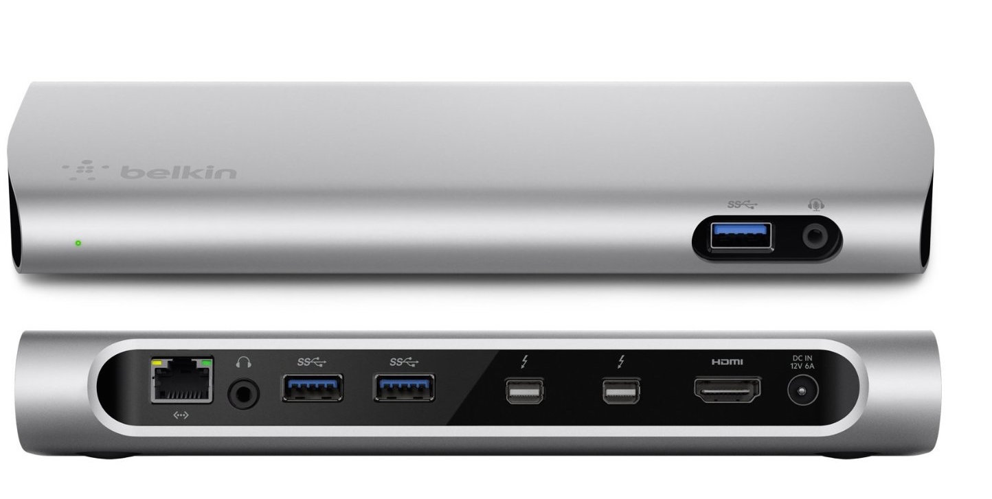 Belkin 30% off sitewide on $100+ orders: Thunderbolt 2 Dock $210, NetCam with night vision $71, more
