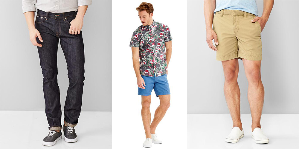 949bceec9e Save 40% at Gap & on Banana Republic sale items: Kennedy Shorts $27 (Reg.  $45), 1969 Jeans $65 (Reg. $108), more