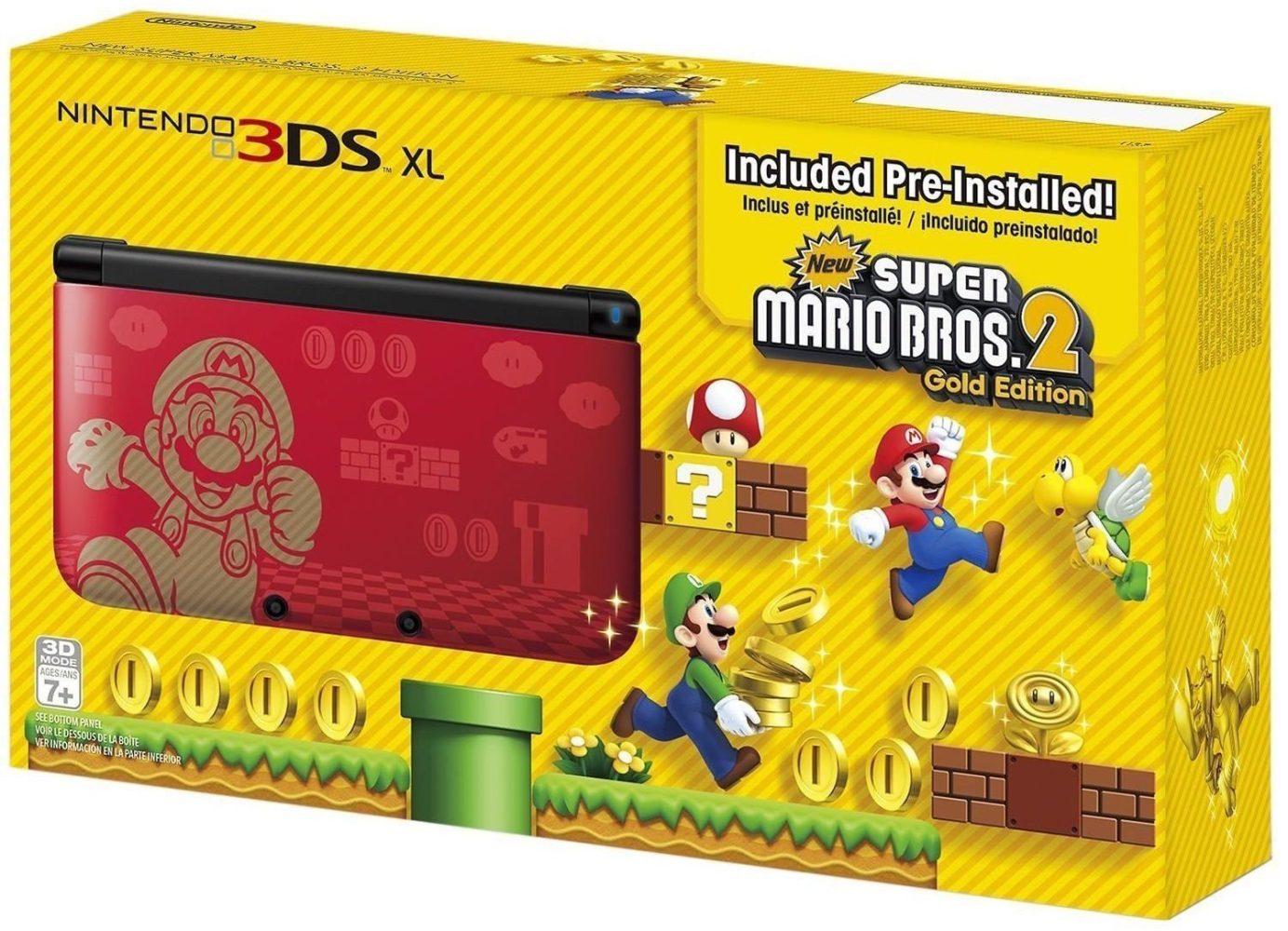 Games/Apps: Nintendo 3DS XL Super Mario 2 Gold Edition $158 (Reg. $175), CameraBag 2 for Mac $10, freebies, more