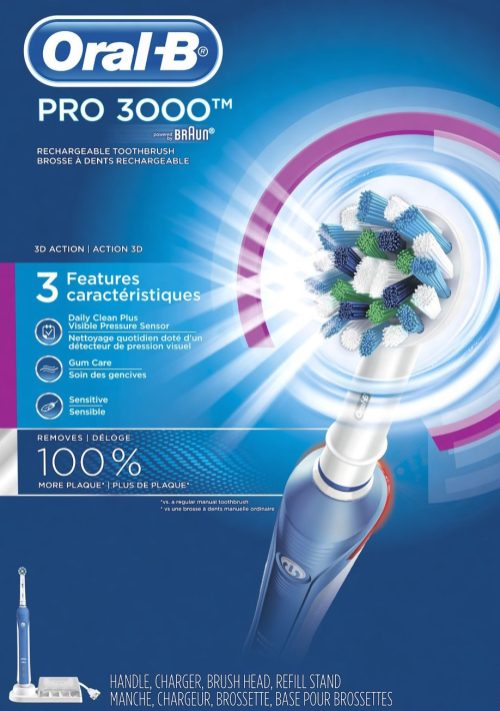 Oral-B PRO 3000 Electric Rechargeable Power Toothbrush-sale-01