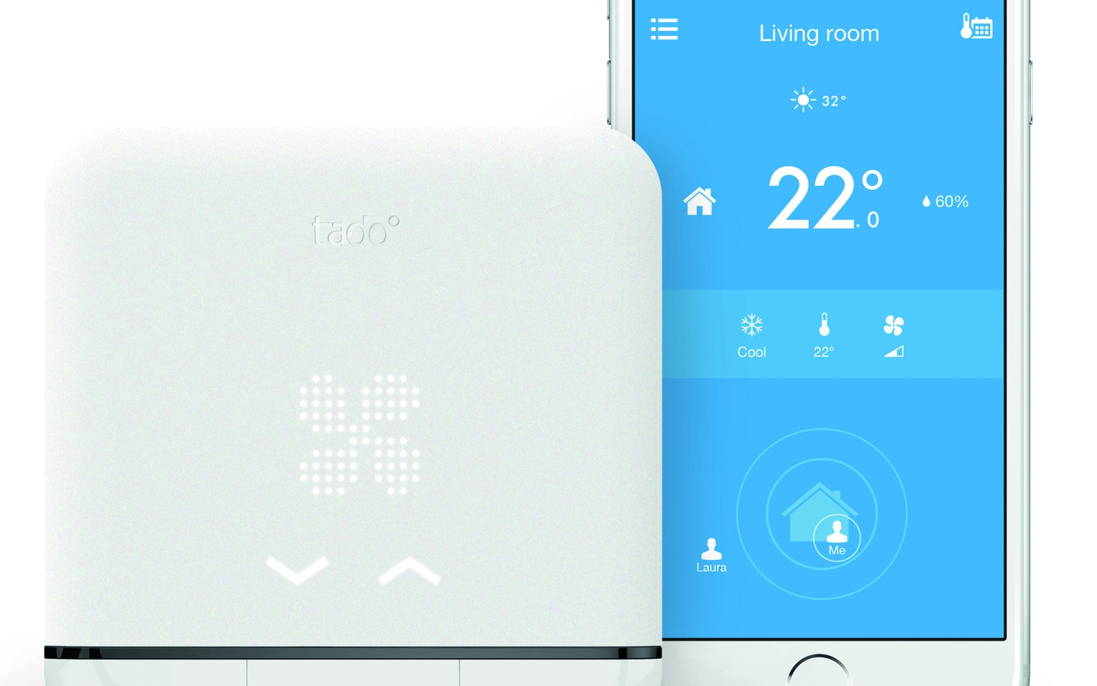 The Smart AC Control from tado° lets your iPhone control your existing air conditioner
