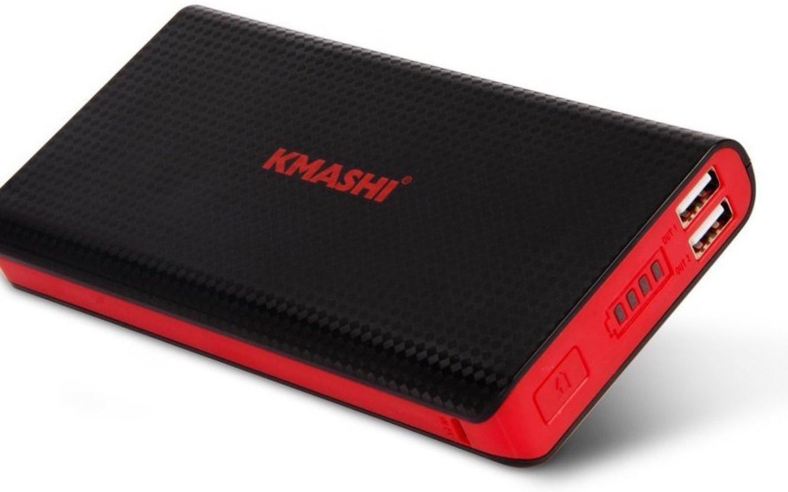Kmashi 15,000mAh Dual-USB Power Bank: $15 shipped (Reg. $20)