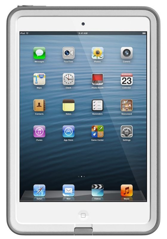 LifeProof iPad Mini Frē Case in white:gray-sale-01