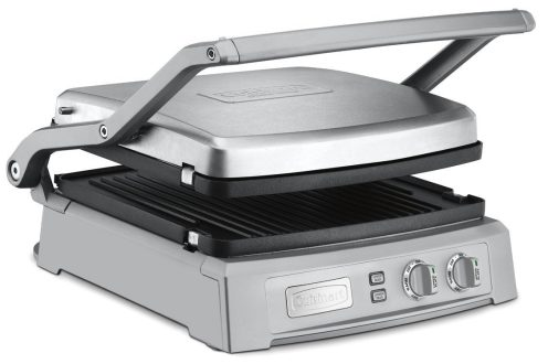 Cuisinart brushed stainless steel Griddler Deluxe (GR-150)-sale-01
