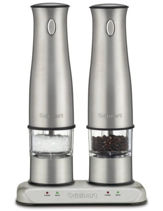 Cuisinart SP-2 Stainless Steel Rechargeable Salt and Pepper Mills-sale-01