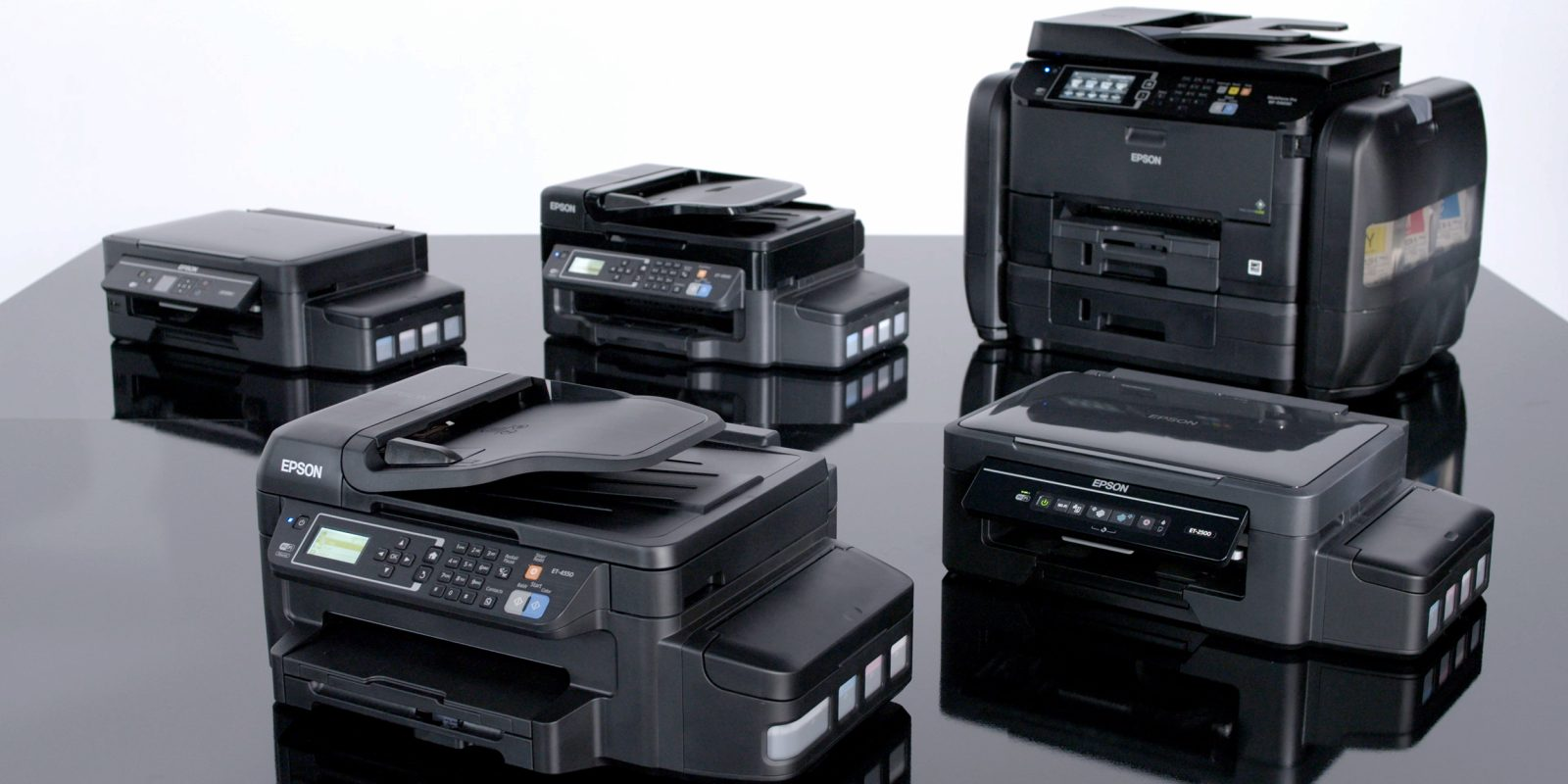 Epson's new EcoTank printers have enough ink for
