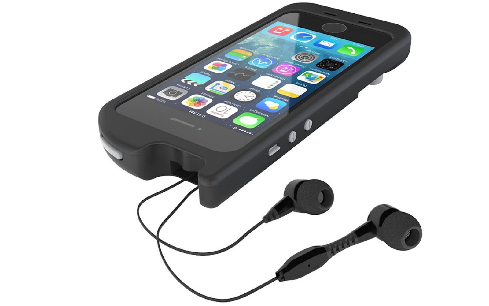 Daily Deals Turtlecell Headphone Case For Iphone 5 5s 25 Mpow Bluetooth Receiver 40 W 35mm Audio Cable 20 More