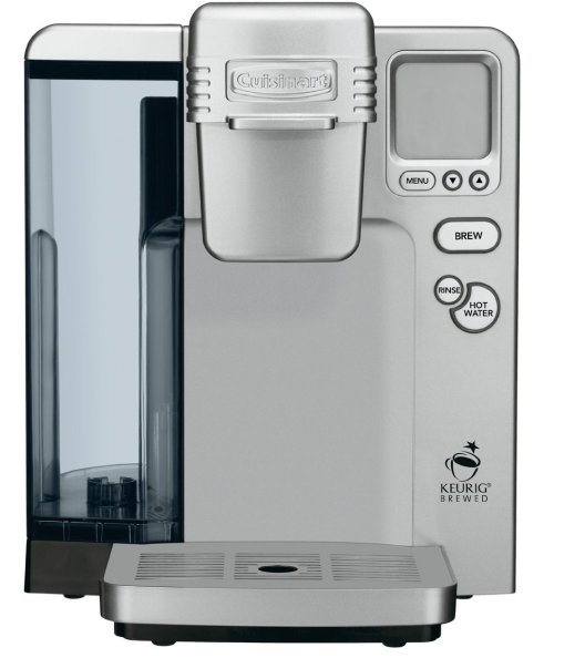 Cuisinart SS-700 Single Serve Keurig Brewing System (white:silver or black)-sale-01