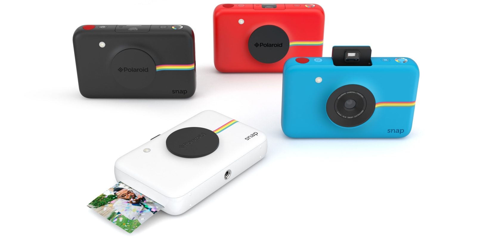 Polaroid's latest pocket-sized Snap cam instantly prints photos with no ink